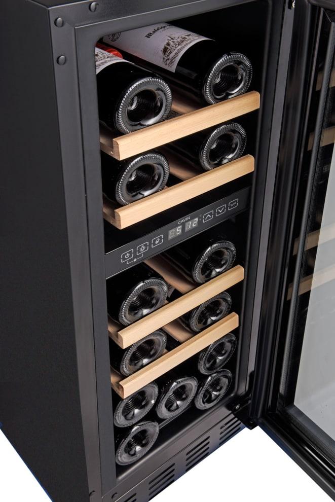 Cantinetta vino da incasso - Arctic Collection 30D Fullglass Black