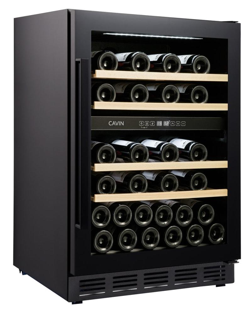 Vinoteca encastrable - Arctic Collection 60D Fullglass Black