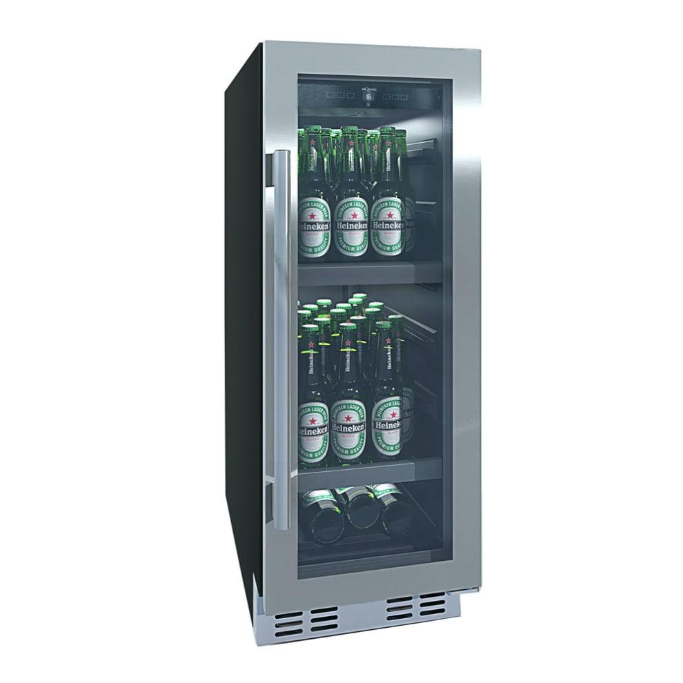 Innbyggbart ølskap - BeerServer 30 Stainless
