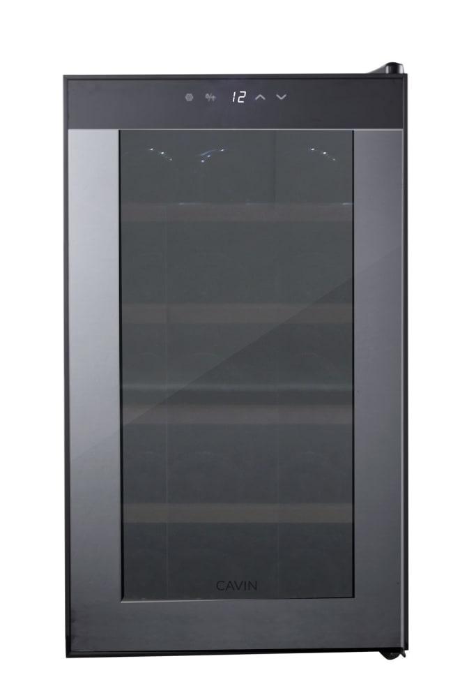 Frittstående termoelektrisk vinskap - Northern Collection 15 Black