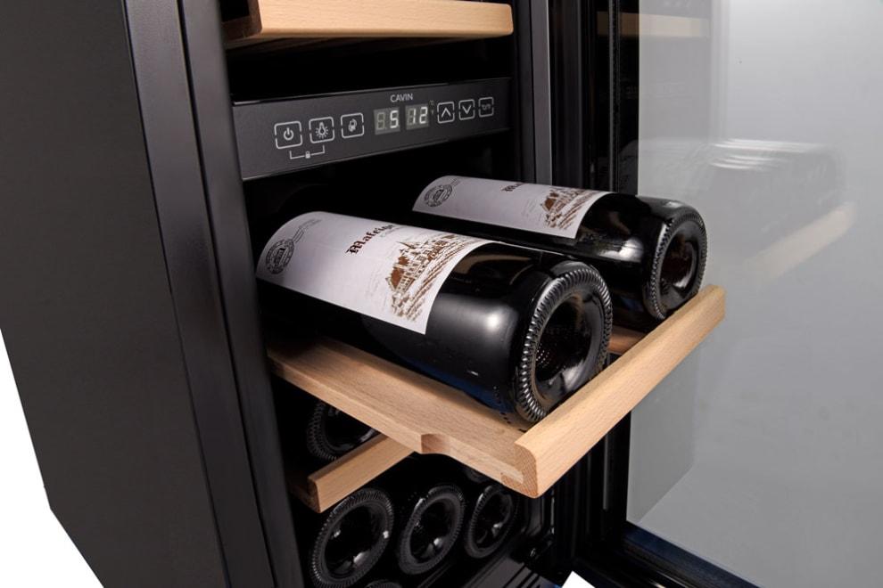 Built-in wine cooler - Arctic Collection 30D Fullglass Black