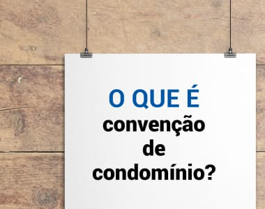 O que é convenção de condomínio