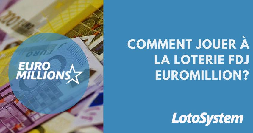 loterie FDJ Euromillion en ligne