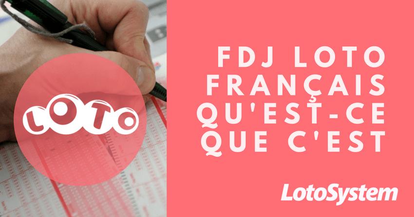 FDJ Loto français