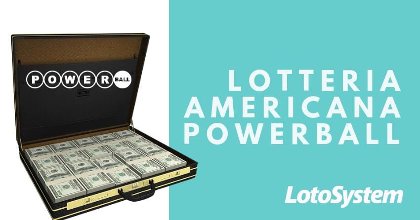 USA lotteria americana PowerBall