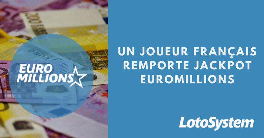 Un joueur français remporte un jackpot EuroMillions de £ 31 Million