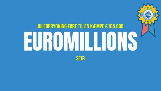 Juleoprydning føre til en kæmpe €105.000 Euromillions sejr