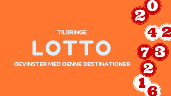 Drømmedestinationer hvor du kan spendere din lottogevinst