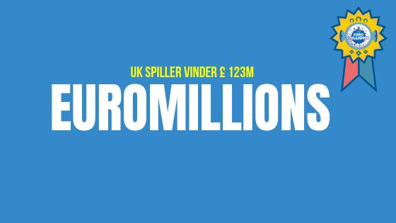 UK spiller vinder £ 123M EuroMillions