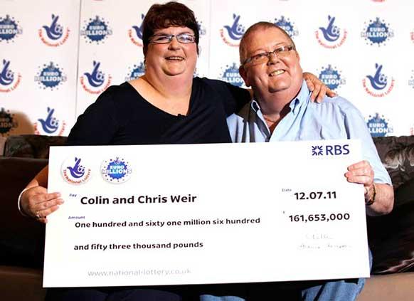 Skotske Lotto vindere