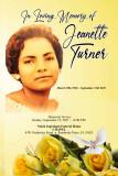 Jeanette  Turner
