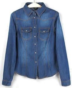 Camisa-Feminina-Jeans-AliExpress
