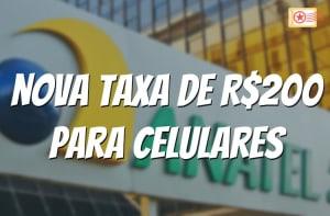 Taxa anatel homologacao de celulares - titulo