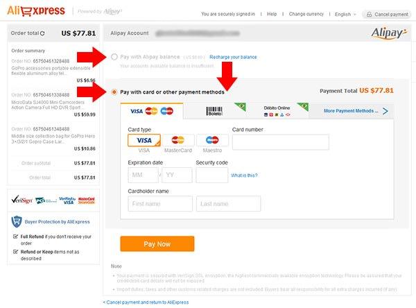 como-comprar-no-aliexpress-pagamento