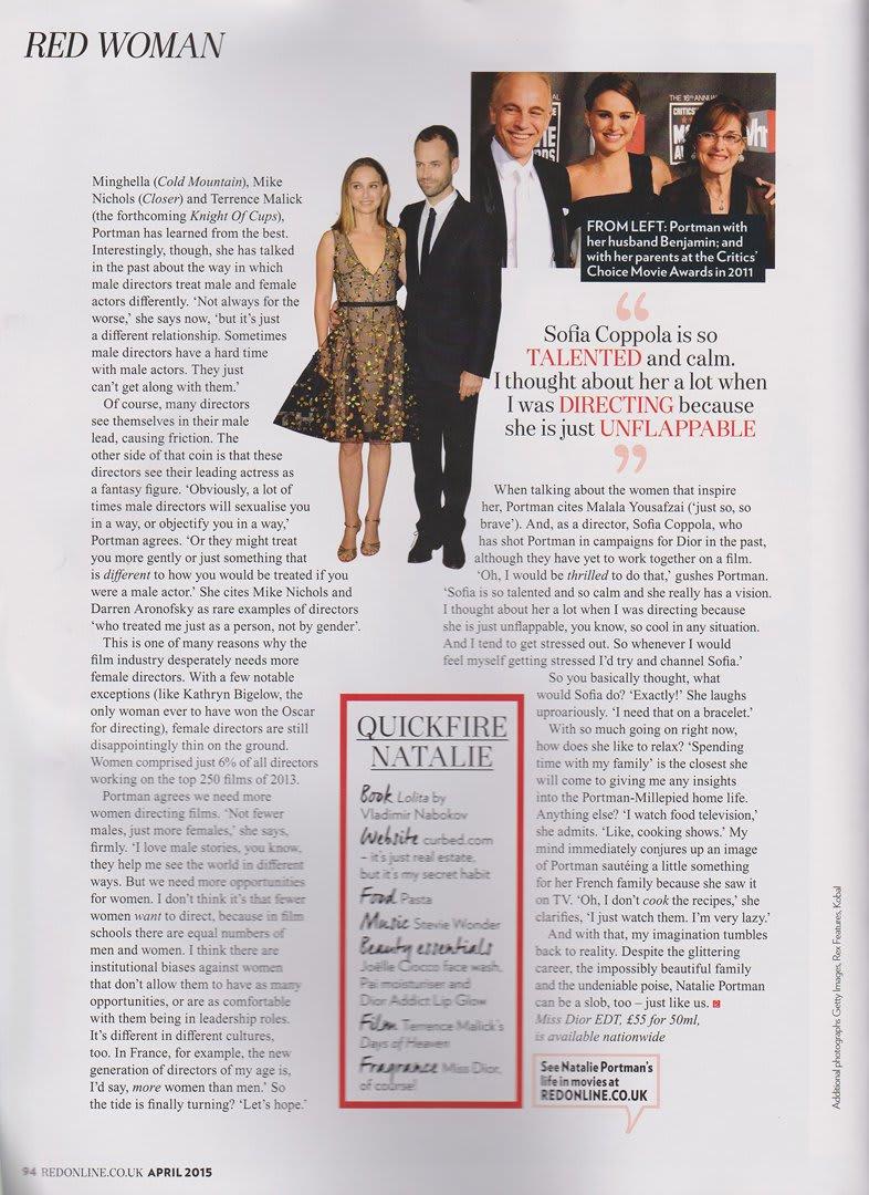 Red Magazine Scans