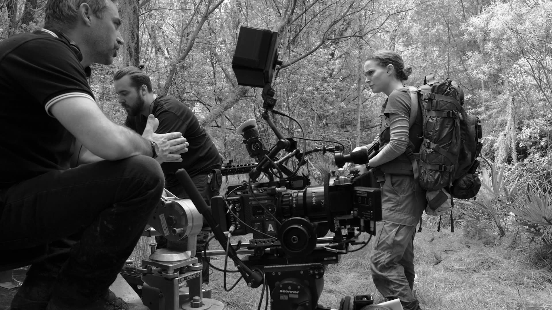 New Annihilation Behind the Scenes Photos