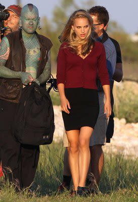 Exclusive... Natalie Portman Filming Her New Movie In Texas