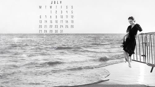 Natalie Portman July 2015 calendar