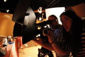 Fisheye still of the second film collaboration.