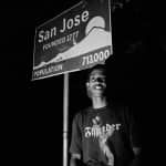 Tony San Jose sign portrait