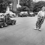 Parade clown