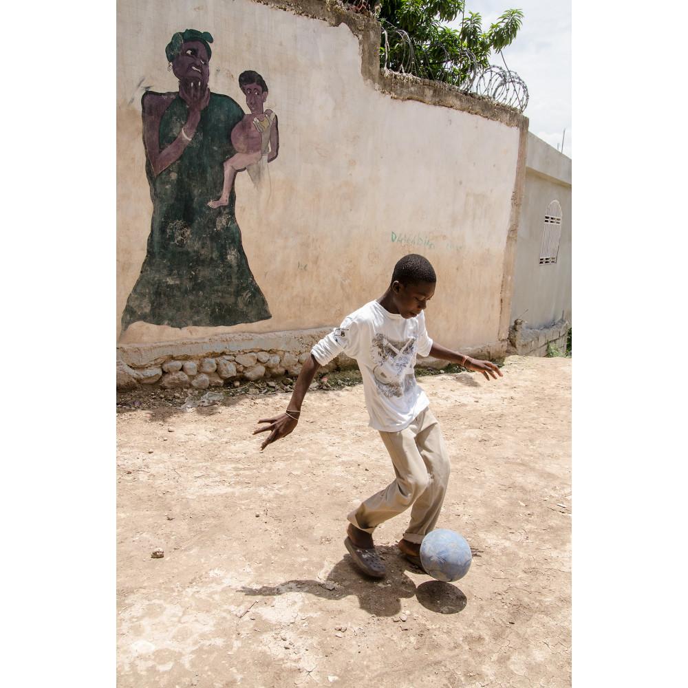 Mural soccer