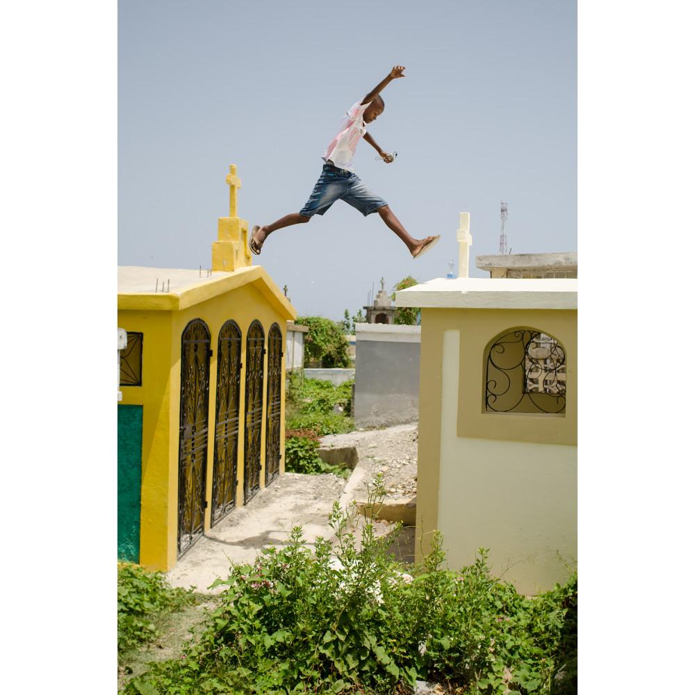 Cemetery jump