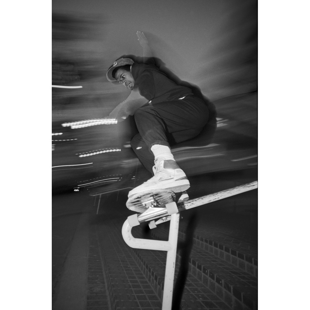 Tony handrail downtown