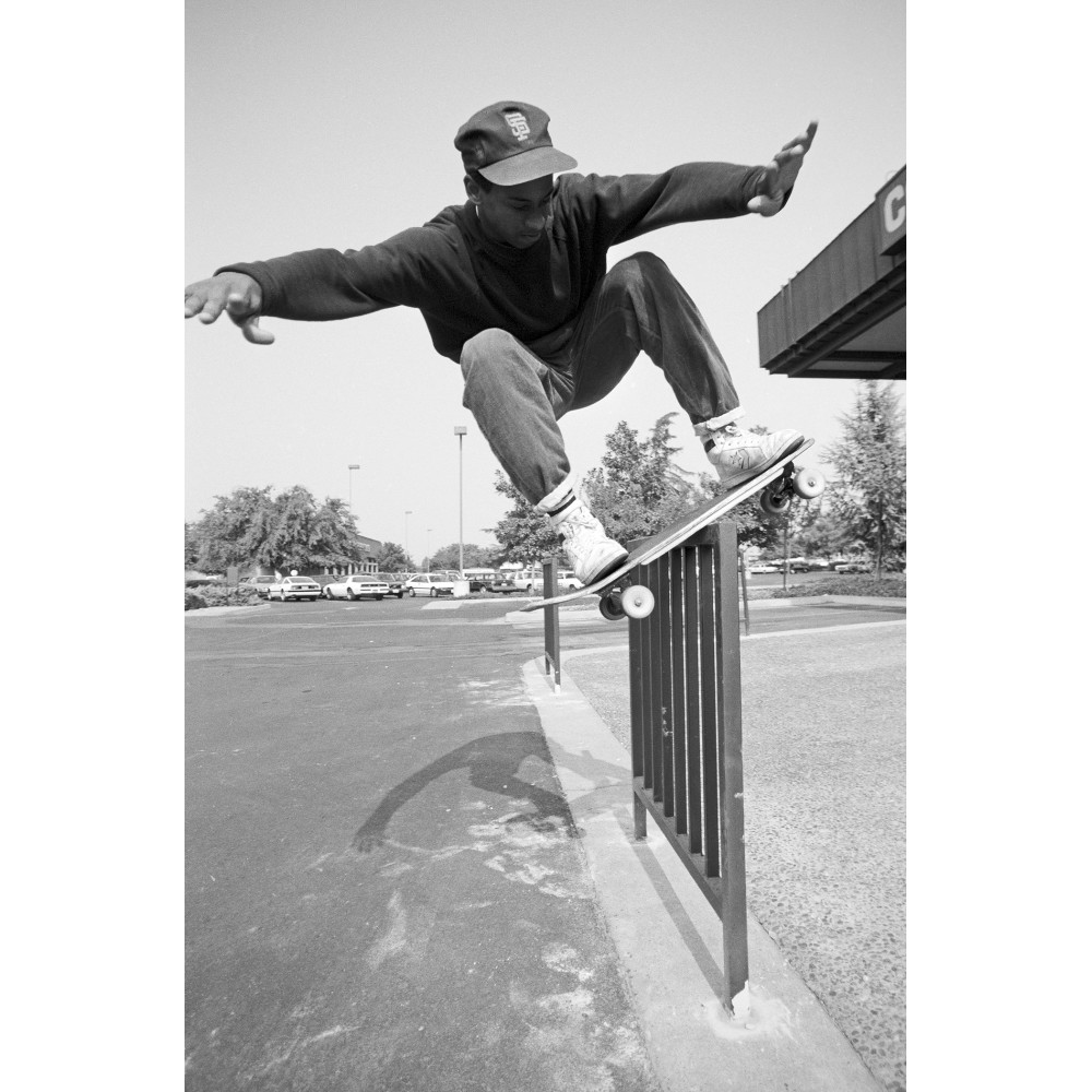 High boardslide