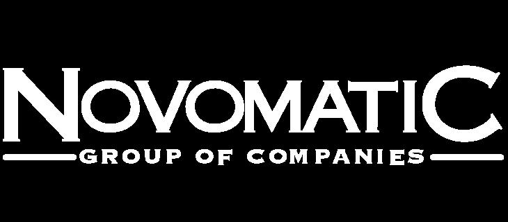 Novomatic logo.