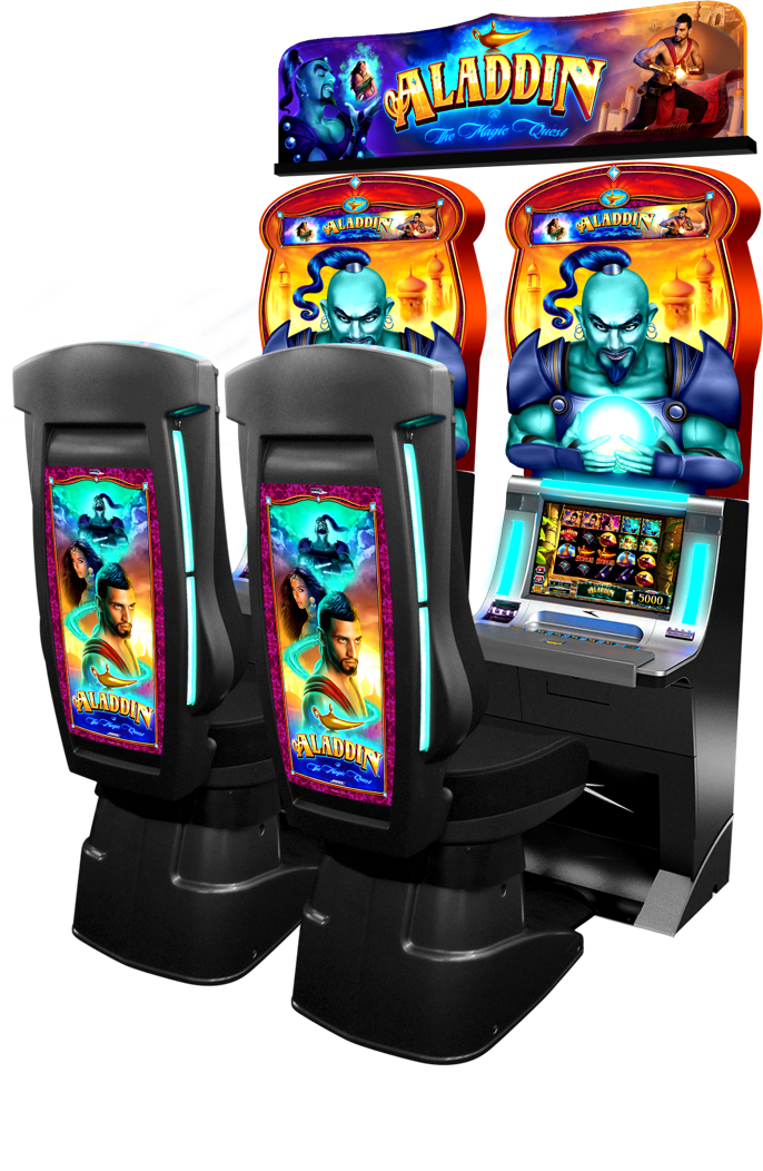 A slot machine from WMS