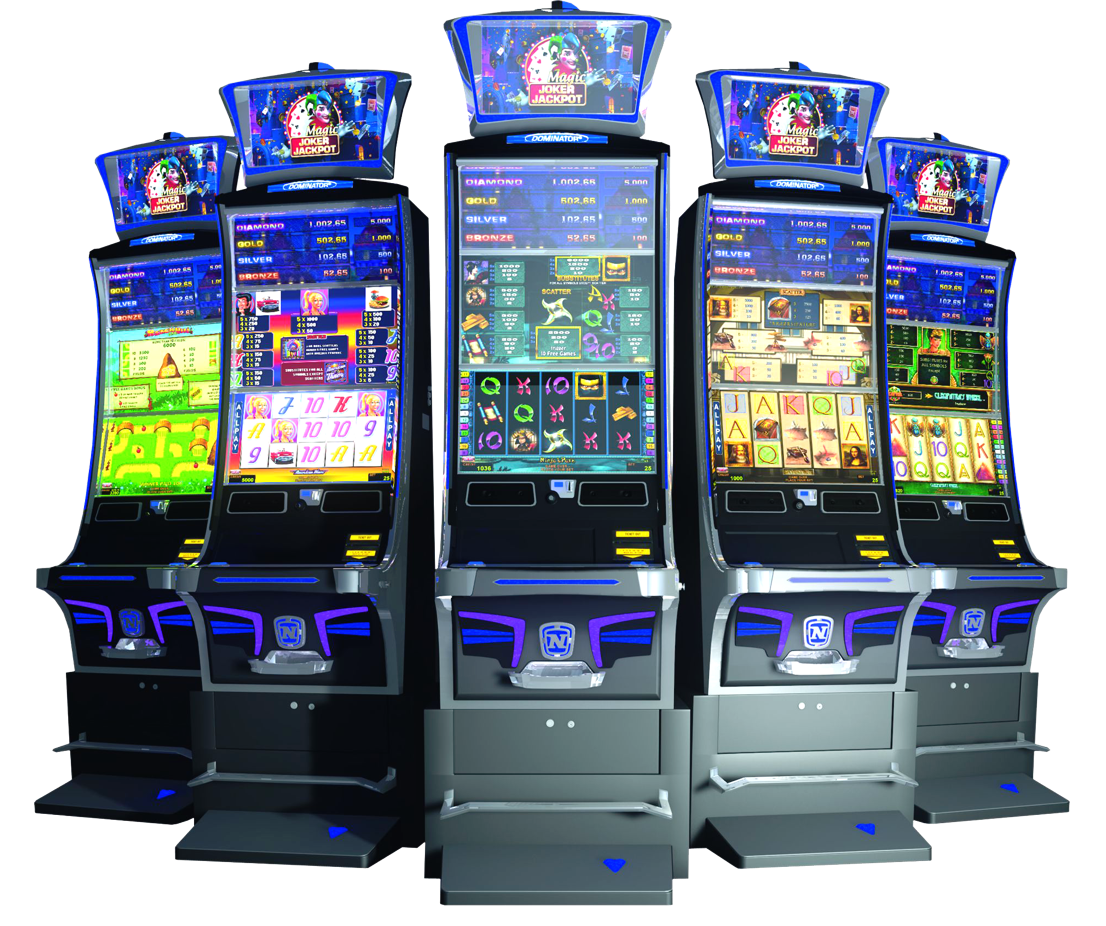 A slot machine from Novomatic