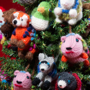 knitted forest mix