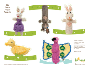 free paper fairy tale puppets for kids