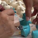 ceramic goat video