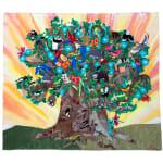 tree of life arpillera