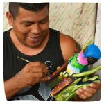 Marcos Boruca Mask Artist