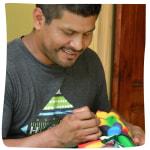 Domingo, Boruca Mask artist