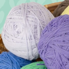 new! organic cotton yarn balls
