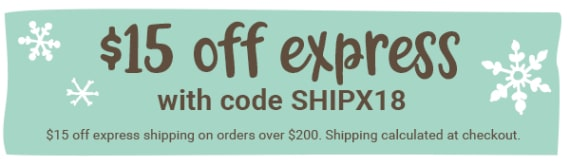 save on express shipping