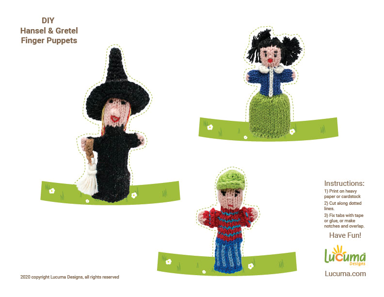 DIY Classic Tale Finger Puppets