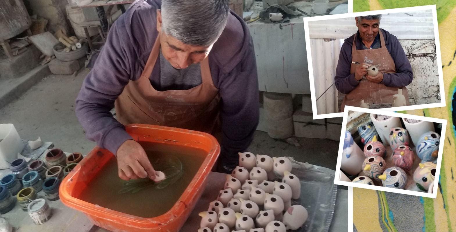 ceramic artist Bernardino