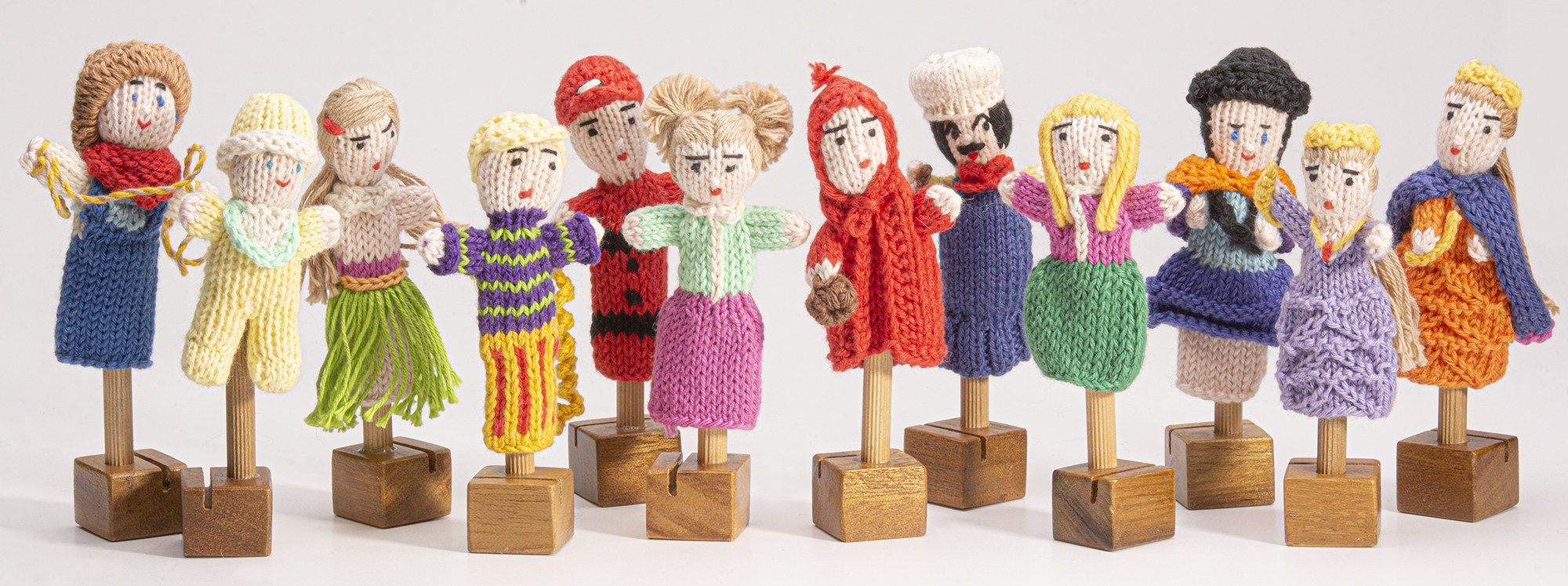 organic cotton people puppet mix