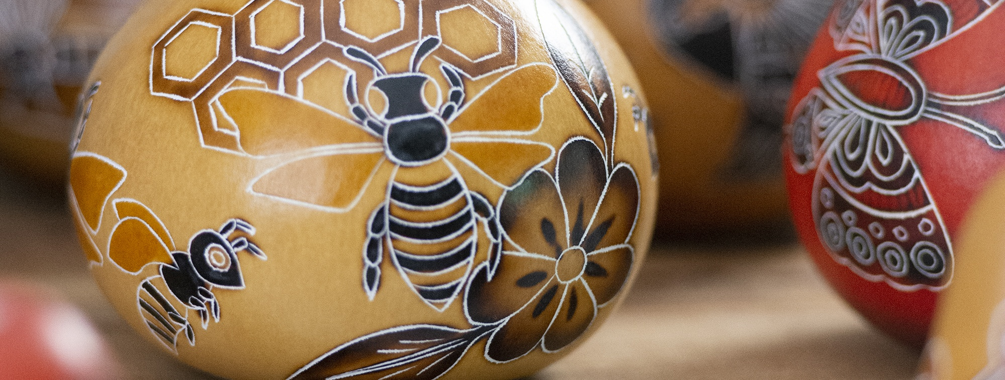 bee gourd ornaments