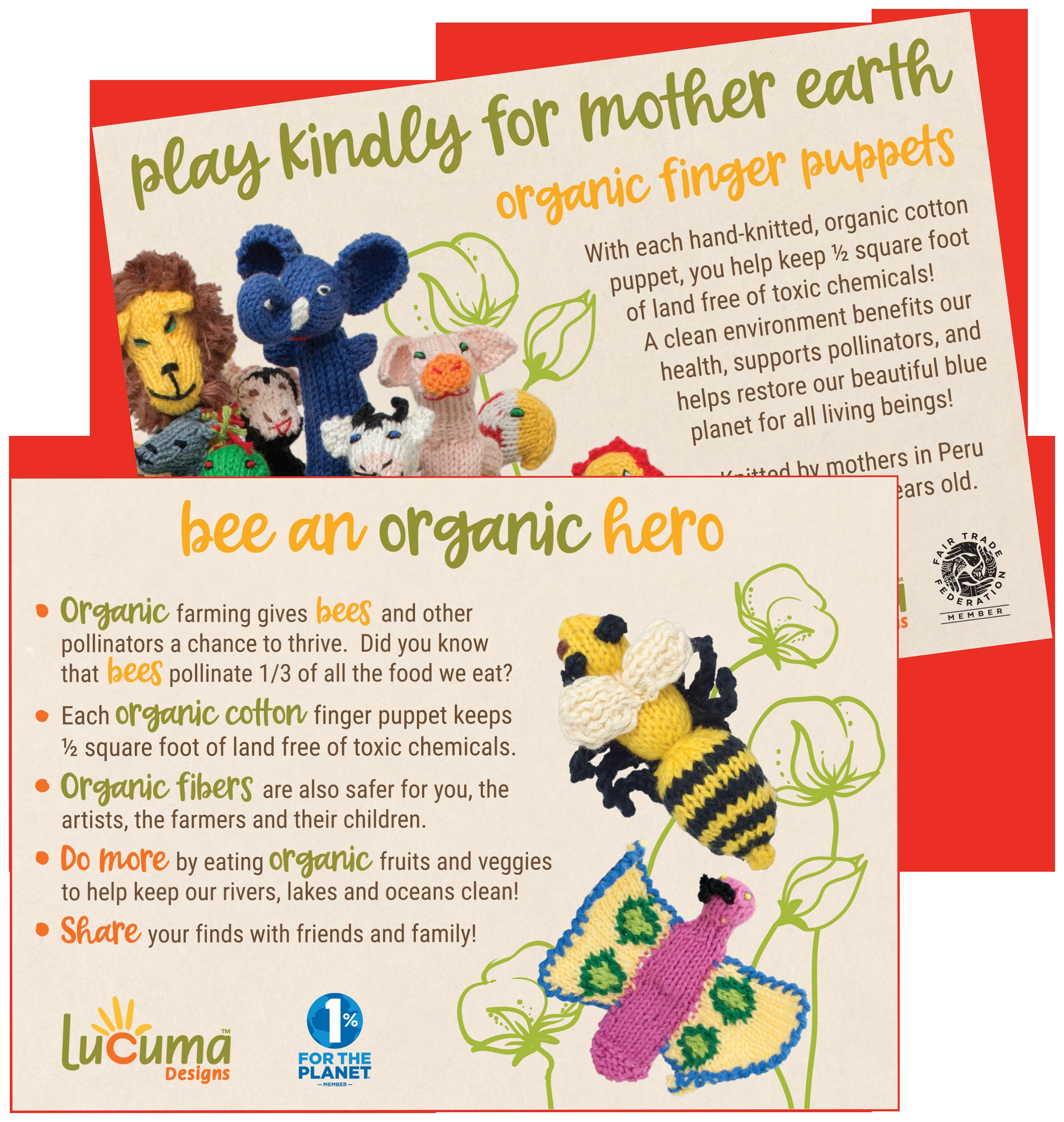 Bee An Organic Hero