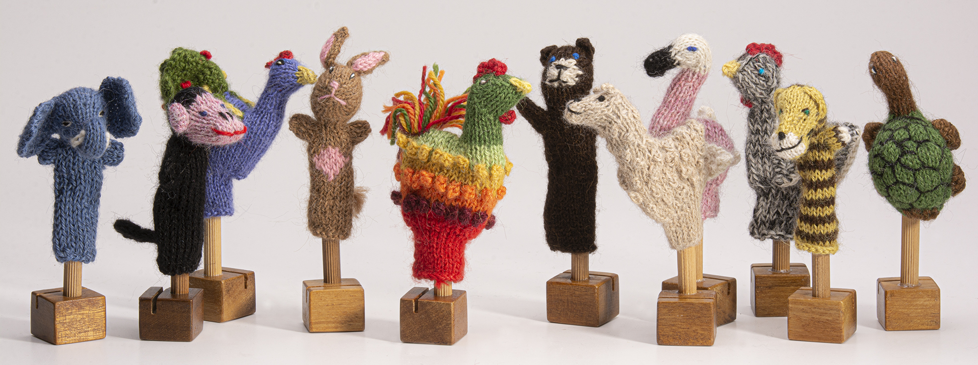 natural organic cotton puppets