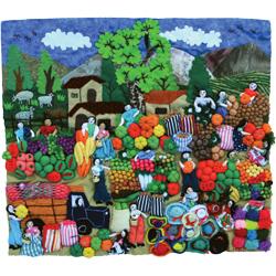 Arpilleras Art Quilts