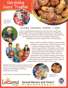Peruvian Gourd Carving Tradition