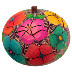 Primavera Carved Gourd Box