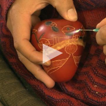Santa Gourd video